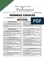 NORMAS LEGALES- EL PERUANO