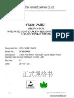 Sk6812 Mini 3535 Led Datasheet