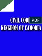 The Civil Code of the Kingdom of Cambodia
