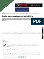 Macri Se Prepara Para Inaugurar El Año Legislativo _ Página12 _ La Otra Mirada