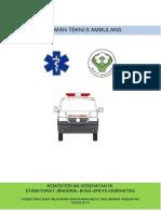 Pedoman Teknis Ambulan 2014