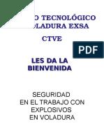 EXSA Manipuleo Explosivos
