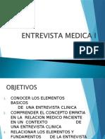 Enntrevista Medica
