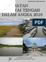 Kecamatan Amuntai Tengah Dalam Angka 2016