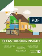 Texas Housing Insights