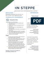 Resume (as of 2/28/17)