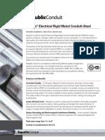 Rigid Electrical Steel Conduit