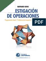 Kong, Maynard - Investigación de operaciones. Programación Lineal. Problemas....pdf