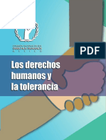 Derechos Humanos y Tolerancia