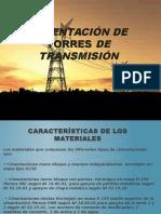 Cimentación de Torres de Transmisión