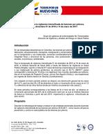 Metodología Notificación Vigilancia Intensificada Pólvora 2016-2017
