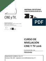 CINE Y TV
