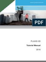 PLAXIS 3D Tutorial Manual 2016