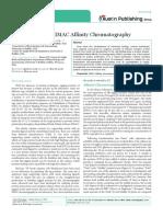 Advanced uses of IMAC Affinity Chromatography