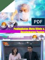 Patient safety -  Akreditasi Puskesmas .ppt