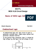 Unit1 LogicCellBasics EE477 Nazarian Fall12