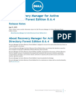 Recovery Manager for AD_Forest Edition_8.6.4