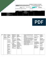 forward planning document- week 6