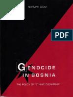 Norman Cigar-Genocide in Bosnia