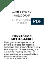 PEMERIKSAAN MYELOGRAFI
