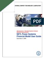 Financial Model User Guide