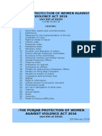 Women Protection Law 2016