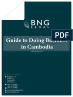 BNG Guide to Doing Business in Cambodia 2016