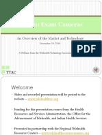 Patient Exam Cameras - Webinar