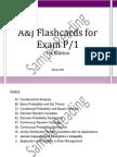 A&J Flashcards for SOA Exam P/CAS Exam 1