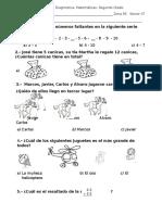 Segundo Examen Matematicas