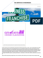 franchise Cleaning Service Di Indonesia - 0813 2245 3138