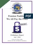 Cuomo Pension Padding Report
