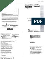 Reclutamiento, Selección, Contratación e Inducción Del Personal 3ra Ed. - Jaime Grados