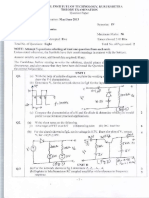 Question Papers B.tech ECE Analog ElectronicsECT-202(107) 4