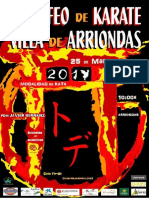 2017 V Trofeo Villa de Arriondas Normativa