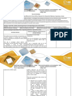 Guía de Actividades y Rúbrica de Evaluación Paso 1 Expresión de Opiniones, Impresiones y Juicios