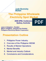 APEX 2008 - S1P1 Lasse Holopainen Presentation_Philippines_WESM