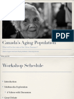 Canada's Aging Population - What will be the wake of the 'Silver Tsunami'