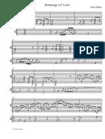 Hommage a F Liszt