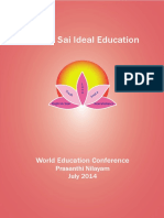 Sathya Sai Education Conference Booklet 2014