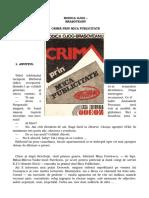 Crima Prin Mica Publicitate
