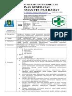 8.1.2.1 Sop Permintaan Pemeriksaan Laboratorium, Penerimaan, Pengambilan Dan Penyimpanan Spesimen