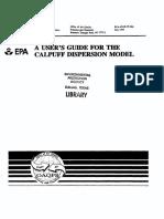 Calpuff User Guide