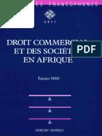 Droit Commercial Afrique 2850695343