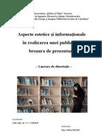 Brosura de prezentare