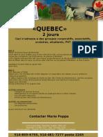 Quebec 2jours