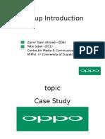 OPPO Case Study
