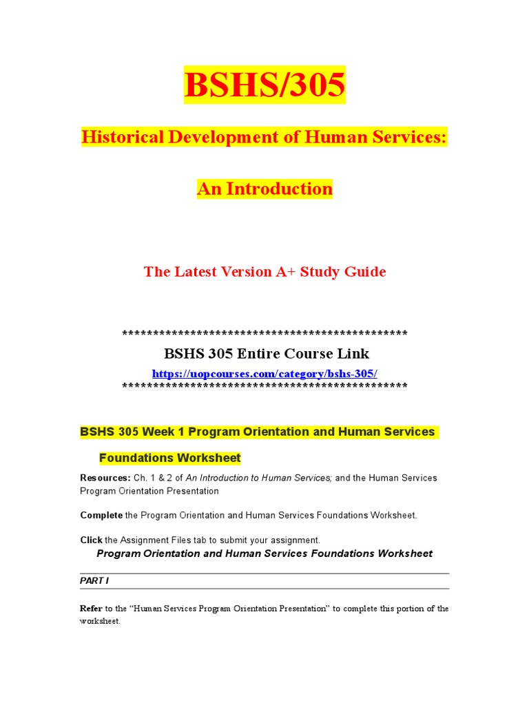 bshs 305 case senarios v1 2014 1 dq 2 bshs 305 week 1 individual assignment foundations of human services bshs 305 week 2014 download: http://bit week 3 case scenarios bshs.