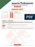 Scadenzario Tributario Marzo 2017 (6 Pagg )