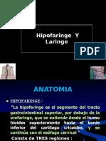 Hipofaringe y Laringe